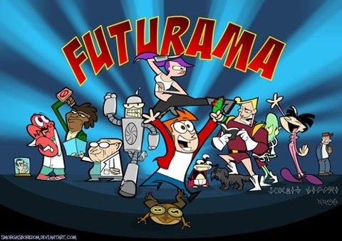 If Futurama was bought by Cartoon Network :P