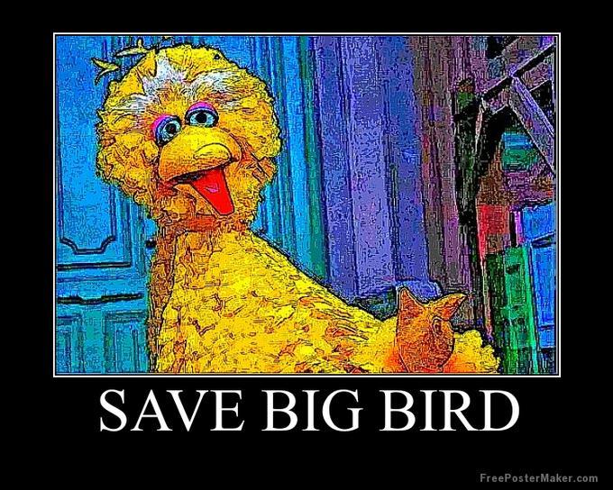 Save Big Bird Poster
