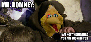 Mr. Romney, I am not the Big Bird You are Looking For