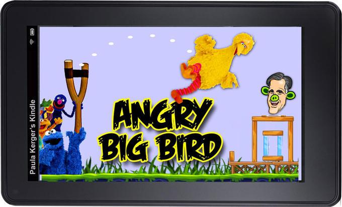 Angry Big Bird
