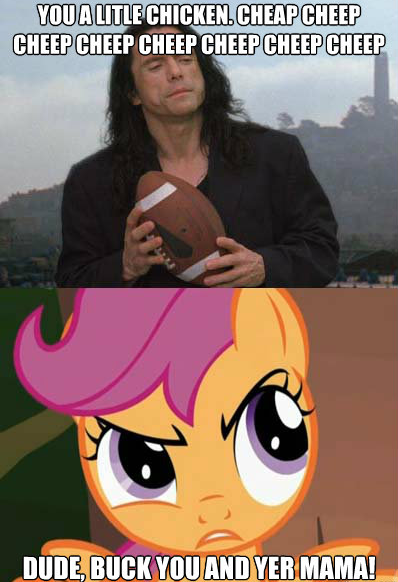 the room with scootaloo