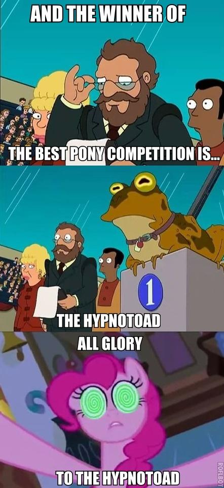 hypnotoad is best pony