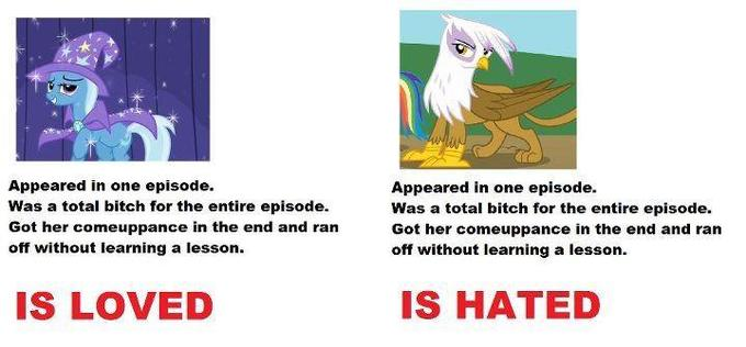 Because The Great and Powerful Trixie is just awesome like that