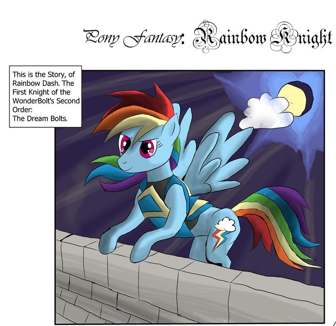 Alternate Universe Rainbow Dash