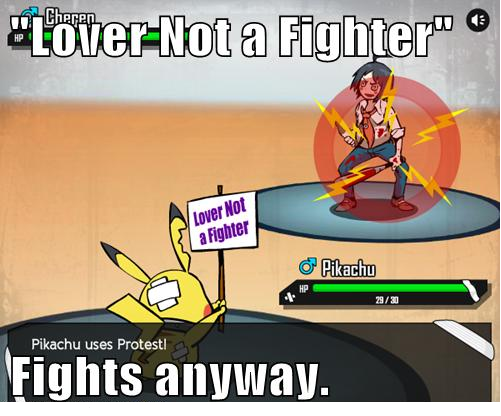 Lover Not a Fighter