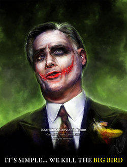 Mitt as the Joker