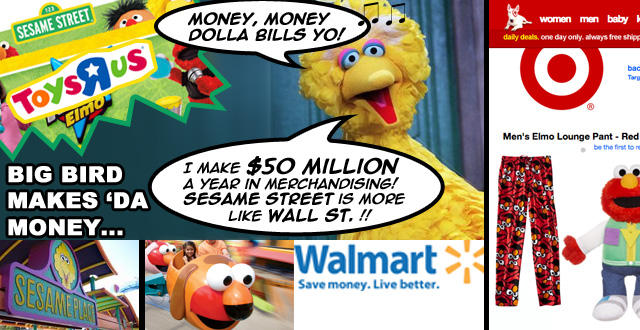 Big Bird Makes 'Da Money