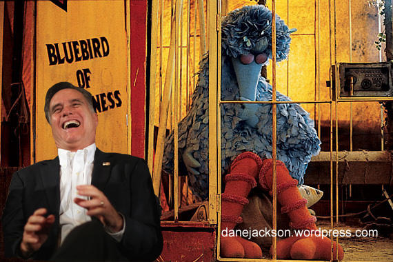 Mitt Laughs at Big BIrd