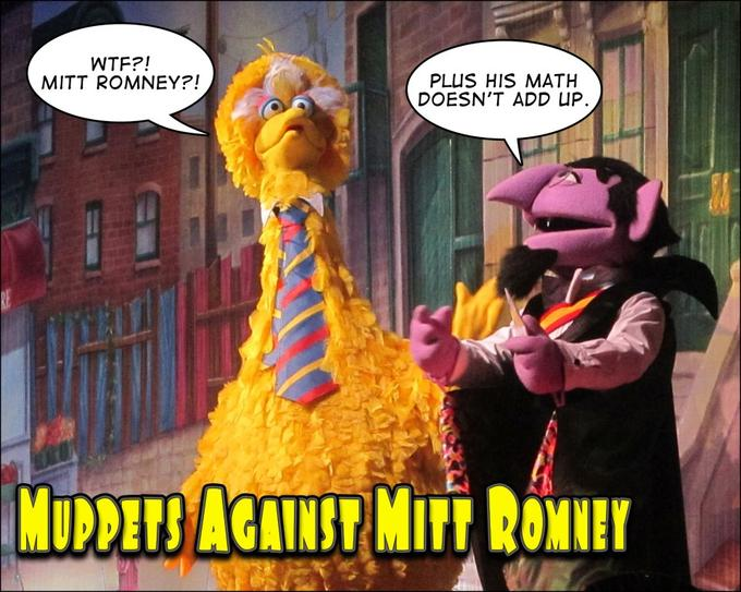 Muppets Against Mitt Romney