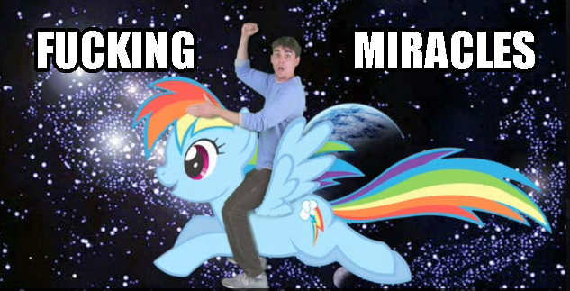 Rainbow Dash Miracles