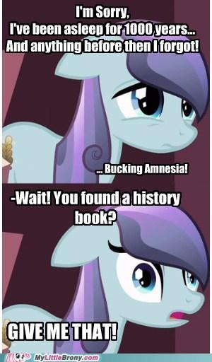 f9a amnesiac crystal pony needs history lesson! my little pony