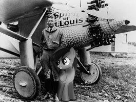 Dash and Charles Lindbergh