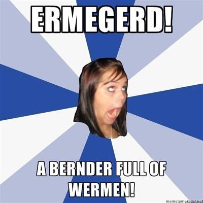 Ermegard! A bernder full of wermen!