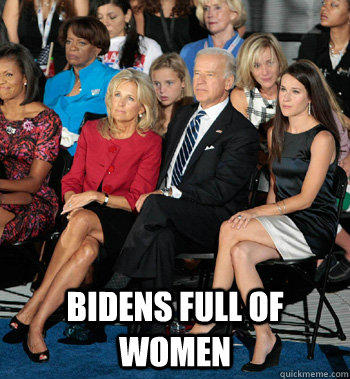 Bidens Full of Women
