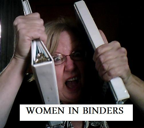 Binders full of woman