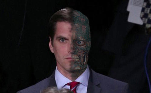 Two-Face Romney