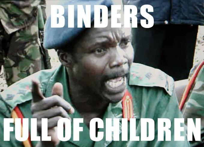 BINDERS FULL OF CHILDREN