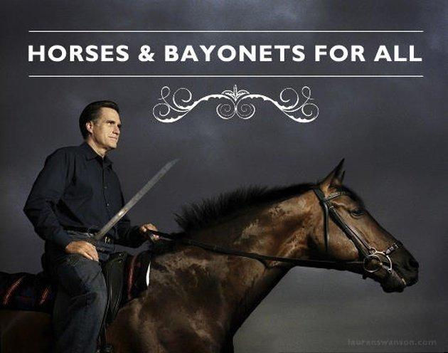 Horses and Bayonets Romney