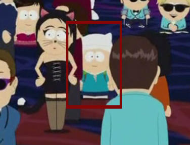 Finn makes a cameo in South Park!