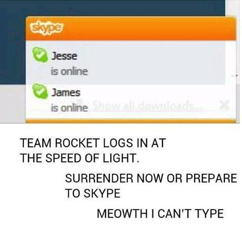 Team Rocket Skype