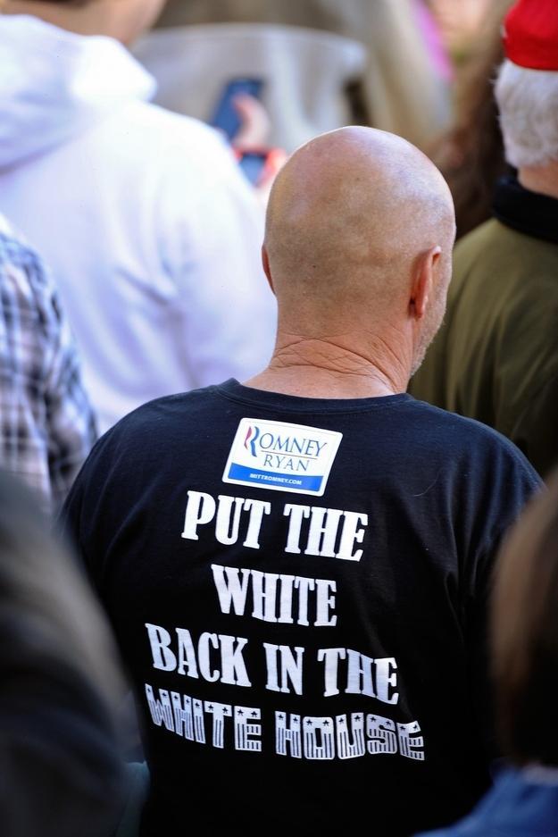 White people for Mitt Romney
