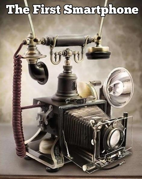 The First Smartphone