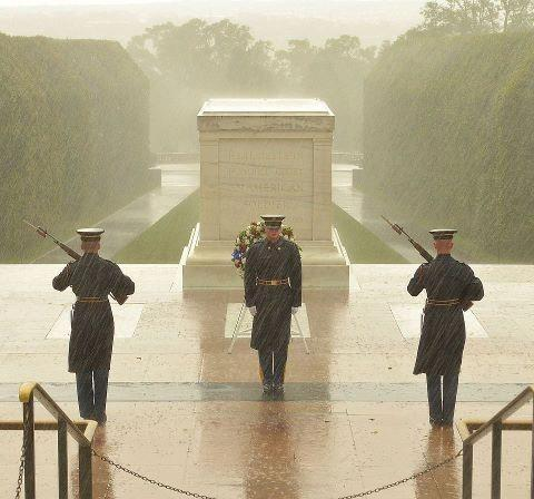 September 2012 Shot of Tomb of the Unknowns in Arlington, Virginia