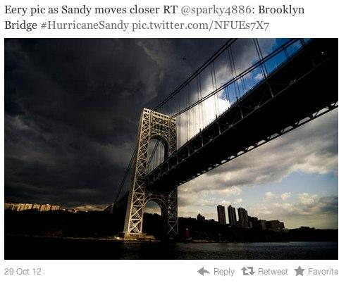 [FAKE] 2009 Gettys Photo of George Washington Bridge
