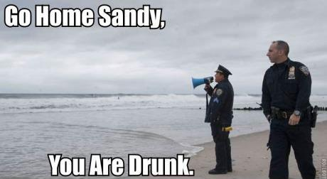 Go Home Sandy