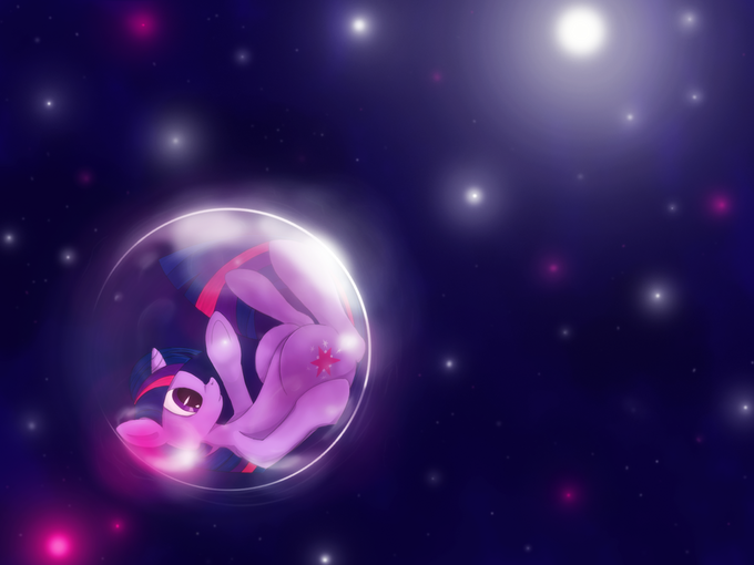 bubble, in space