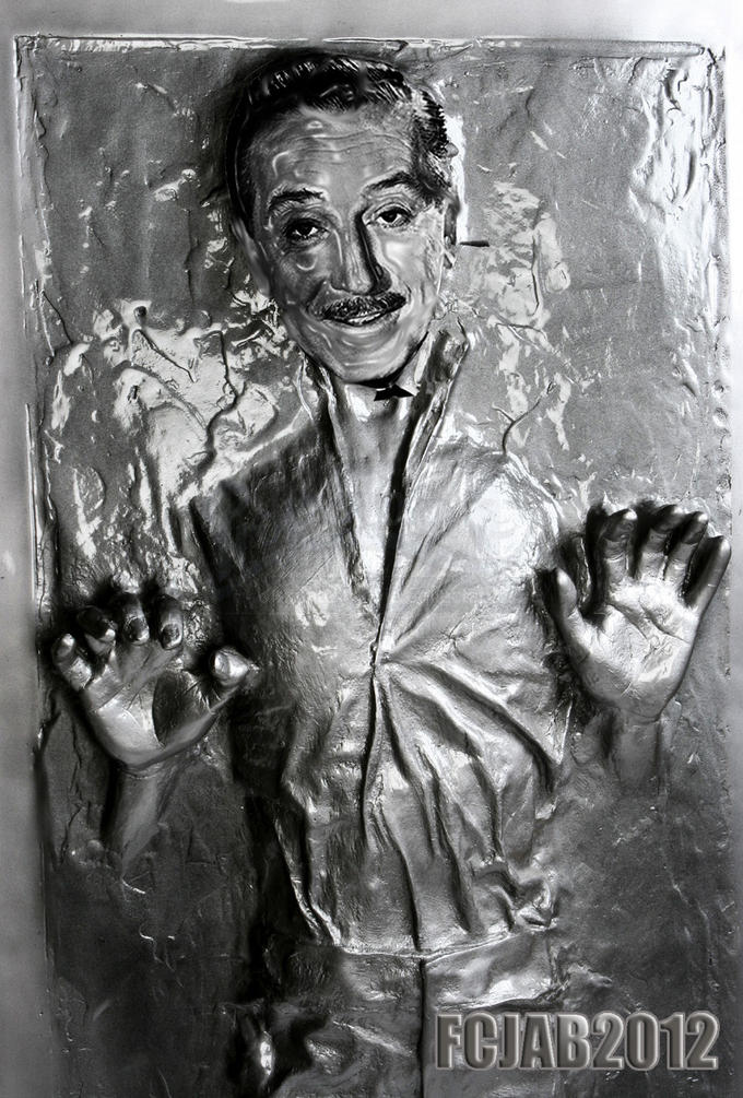 Walt Disney / Star Wars Deal set in Carbonite