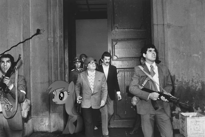Derpy and Salvador Allende