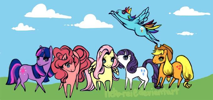 Little poni pones