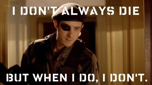 Rory Williams does not always die
