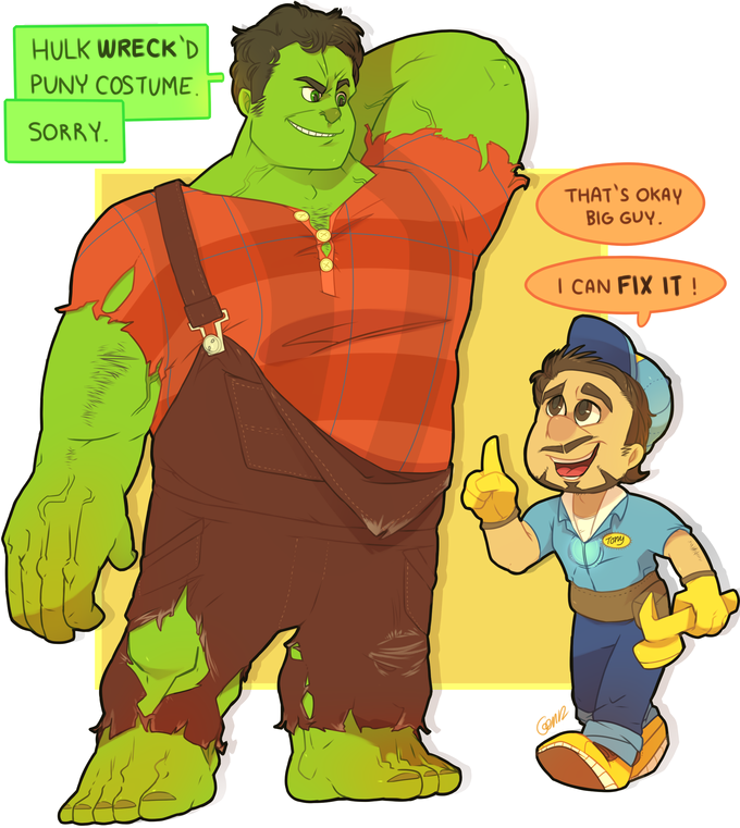 Wreck-it Hulk