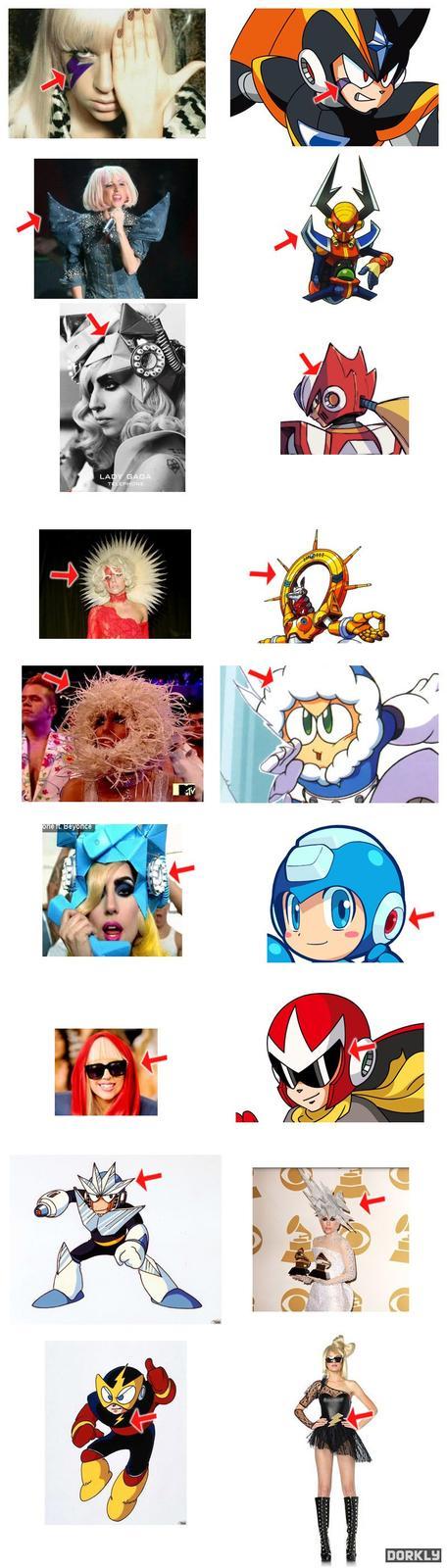 Megaman Look A Likes