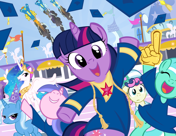 Twilight's Graduation