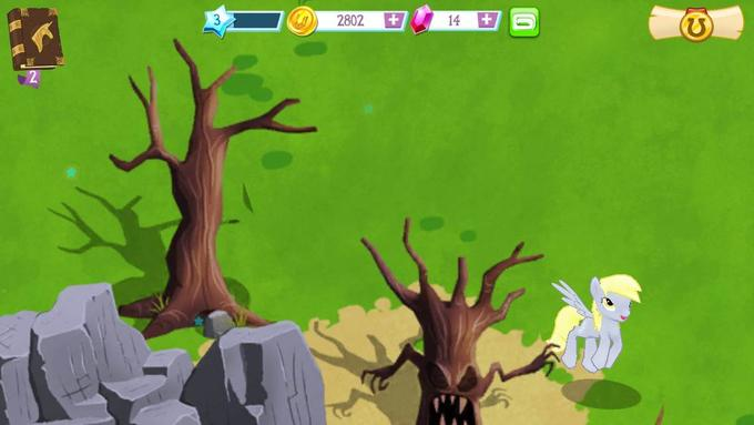 Derpy on My Little Pony iOS Game