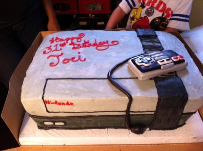 Delicious Nintendo (NES) Cake