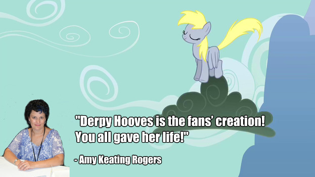 Amy's Quote on Derpy