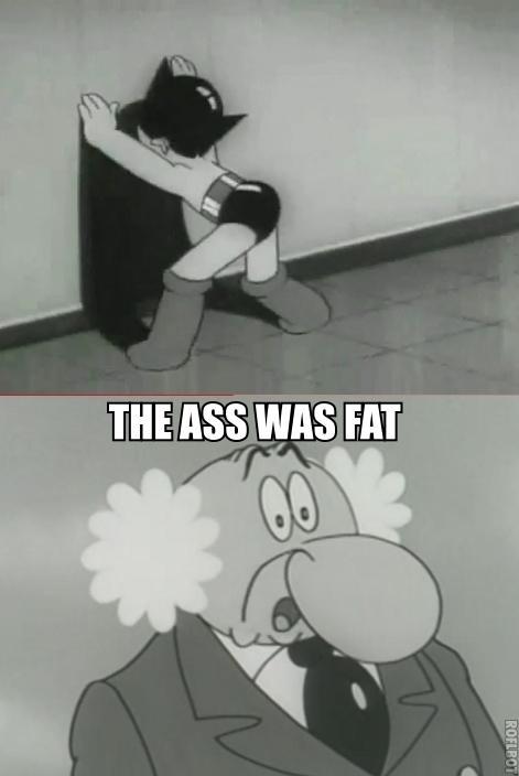 Astro's ass