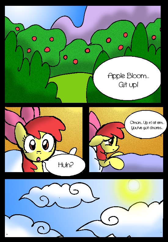 The Princess and the Apple: Page 1