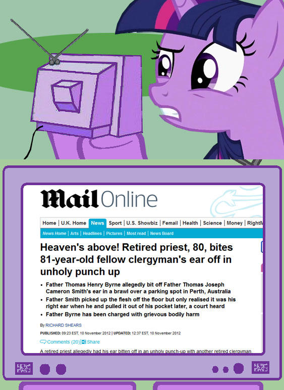 http://www.dailymail.co.uk/news/article-2230952/Heavens-Retired-priest-80-bites-81-year-old-fellow-clergymans-ear-unholy-punch-up.html?ito=feeds-newsxml