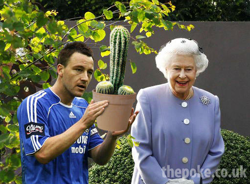 John Terry wins the Chelsea Flower Show