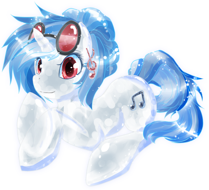 Crystal Vinyl Scratch