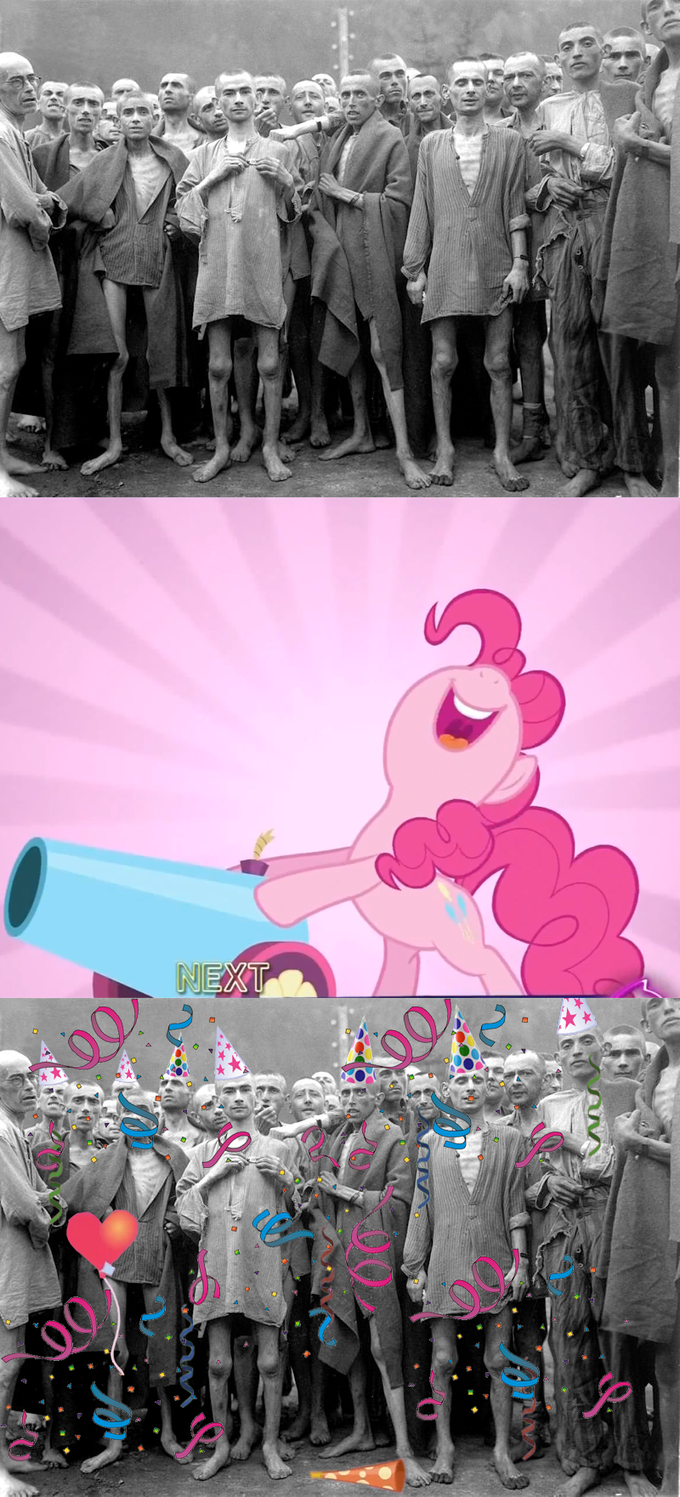 Pinkie Pie's Party Cannon At The Mental