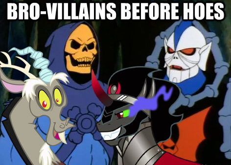 bro-villains before hoes