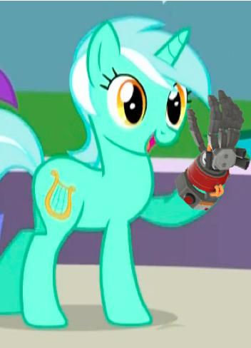 Lyra's Favorite Melee Weapon