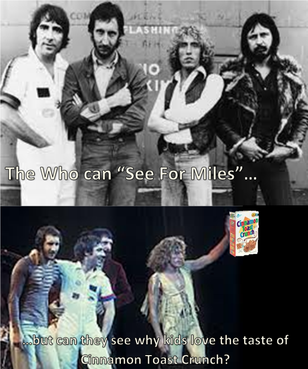 Is it because its the cereal of my generation?