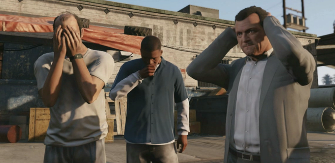 Grand Theft Auto V Reaction Faces